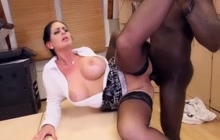 BBC for big tit MILF secretary